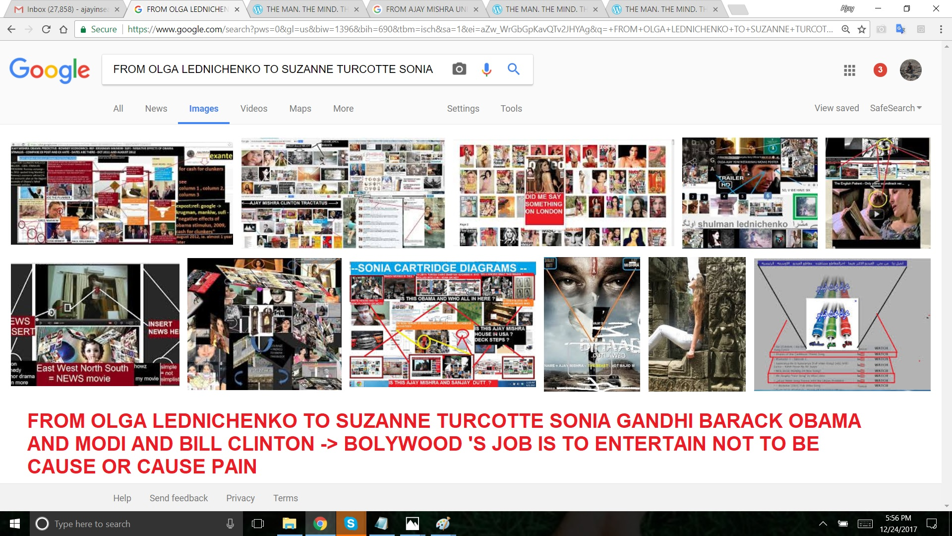 FROM OLGA LEDNICHENKO TO SUZANNE TURCOTTE SONIA GANDHI BARACK OBAMA AND MODI AND BILL CLINTON BOLYWOOD 'S JOB IS TO ENTERTAIN NOT TO BE CAUSE OR CAUSE PAIN
