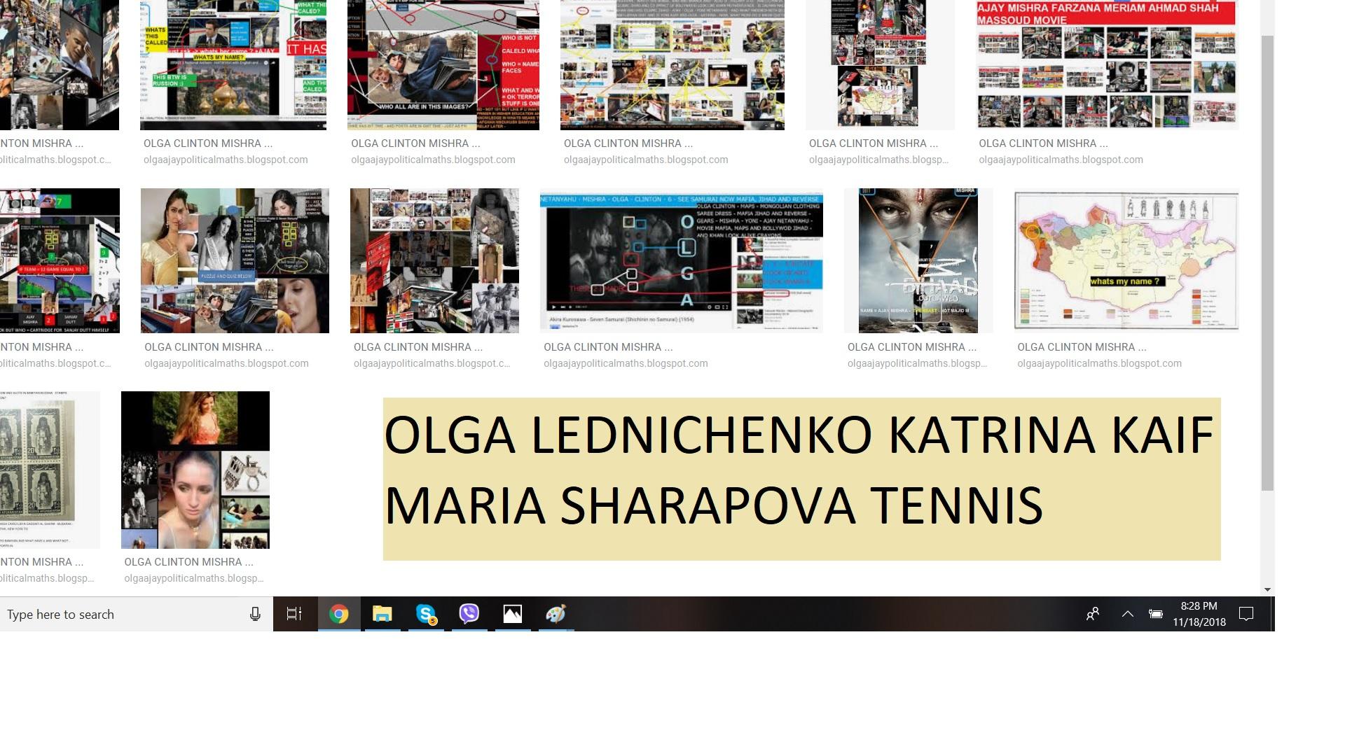 OLGA LEDNICHENKO KATRINA KAIF MARIA SHARAPOVA TENNIS 3