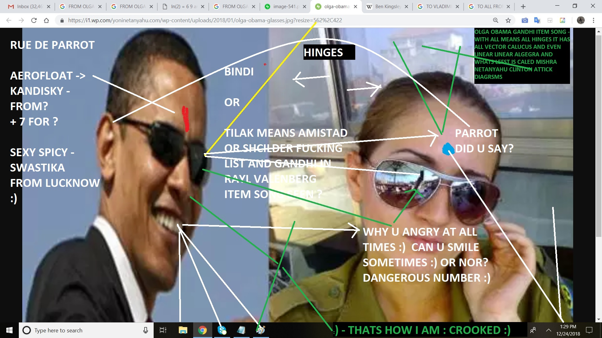 GANDHI OBAMA GANDHI ITEM SONG - WITH ALL MEANS ALL HINGES IT HAS ALL VECTOR CALUCUS AND EVEN LINEAR LINEAR ALGEGRA AND WHATS LEFST IS CALED MISHRA NETANYAHU CLINTON ATTICK DIAGRSMS
