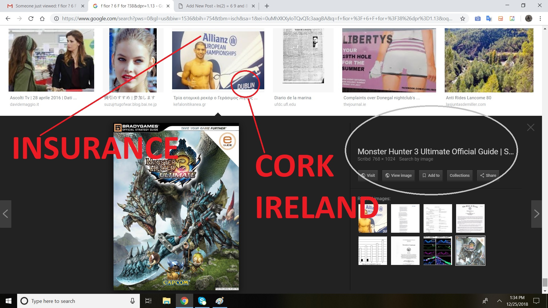 HERE IS INSURANCE AND COKR IN IRELAND
