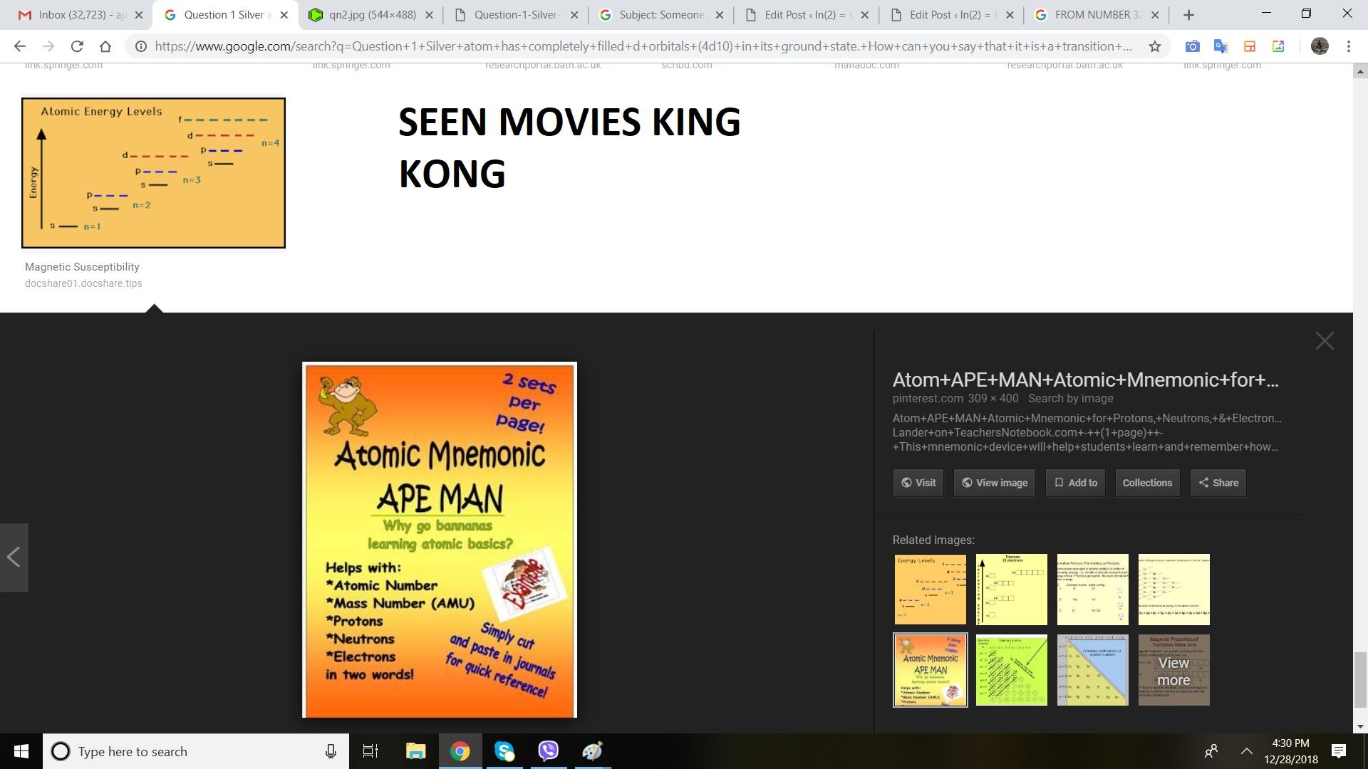KING KONG MOVIE SEEN BAARCK