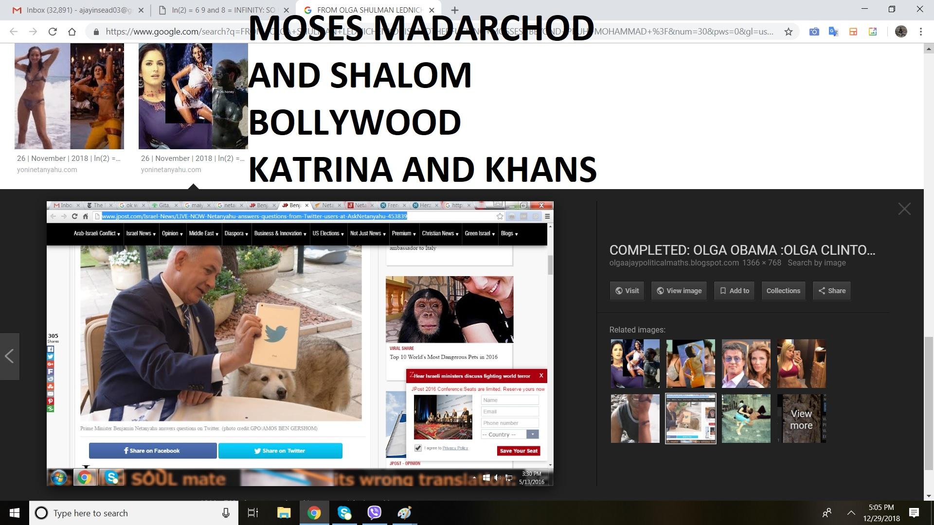 MOSES MADARCHOD AND SHALOM BOLLYWOOD KATRINA AND KHANS
