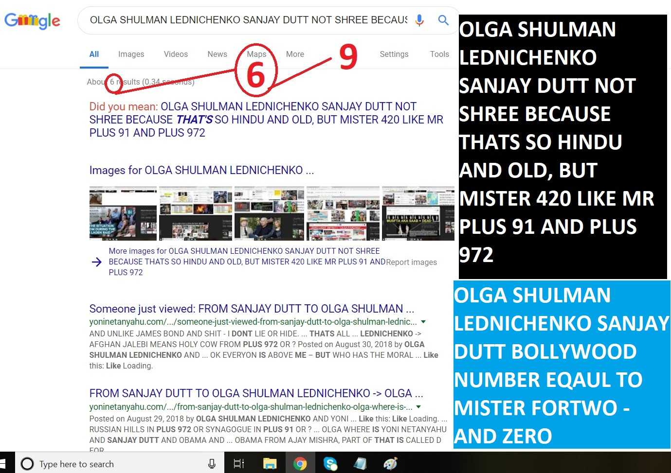 OLGA SHULMAN LEDNICHENKO SANJAY DUTT BOLLYWOOD NUMBER EQAUL TO MISTER FORTWO - AND ZERO