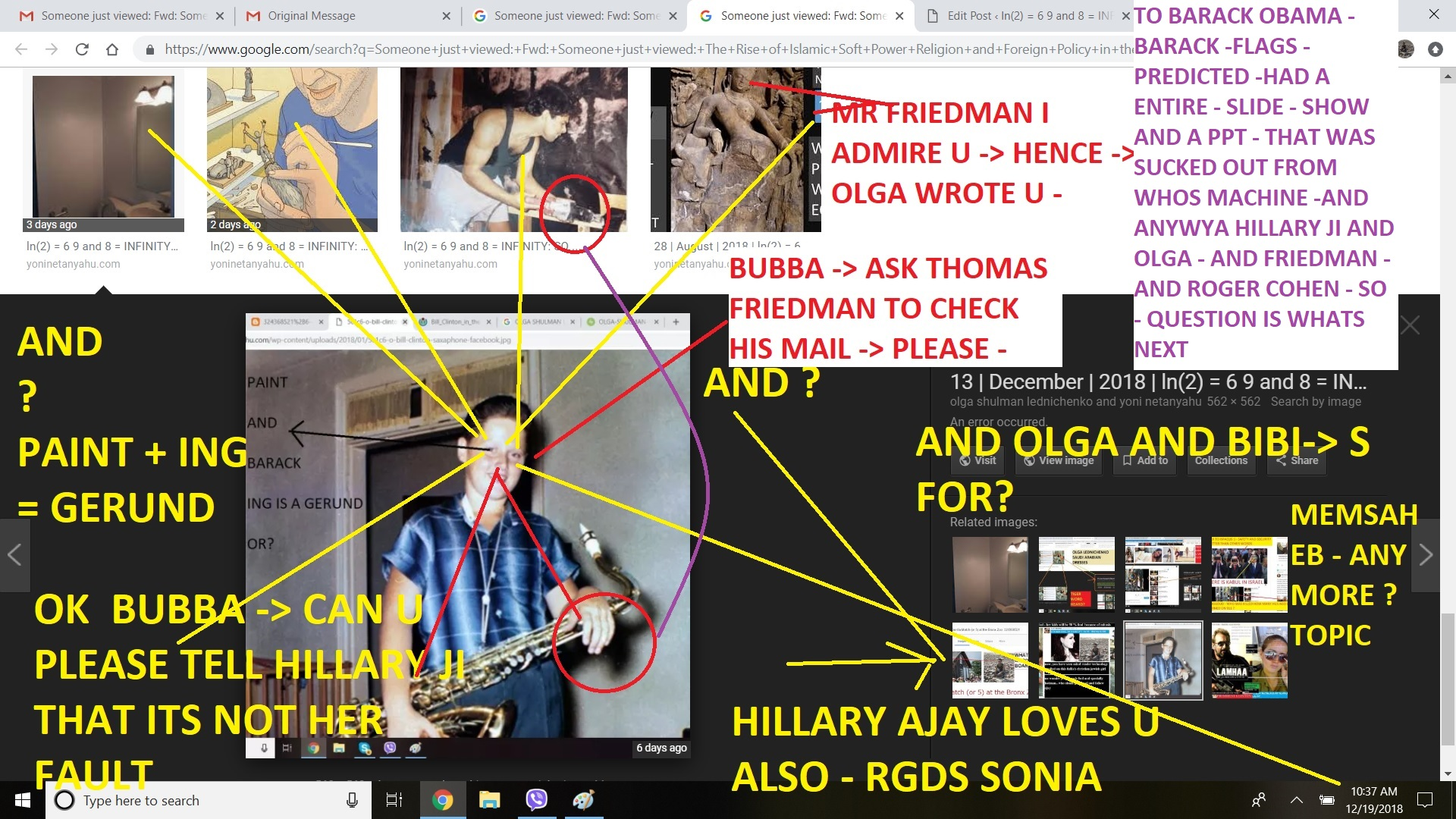 TO BARACK OBAMA - BARACK -FLAGS - PREDICTED -HAD A ENTIRE - SLIDE - SHOW AND A PPT - THAT WAS SUCKED OUT FROM WHOS MACHINE -AND ANYWYA HILLARY JI AND OLGA - AND FRIEDMAN - AND ROGER COHEN - SO - QUESTION IS WHATS NEXT