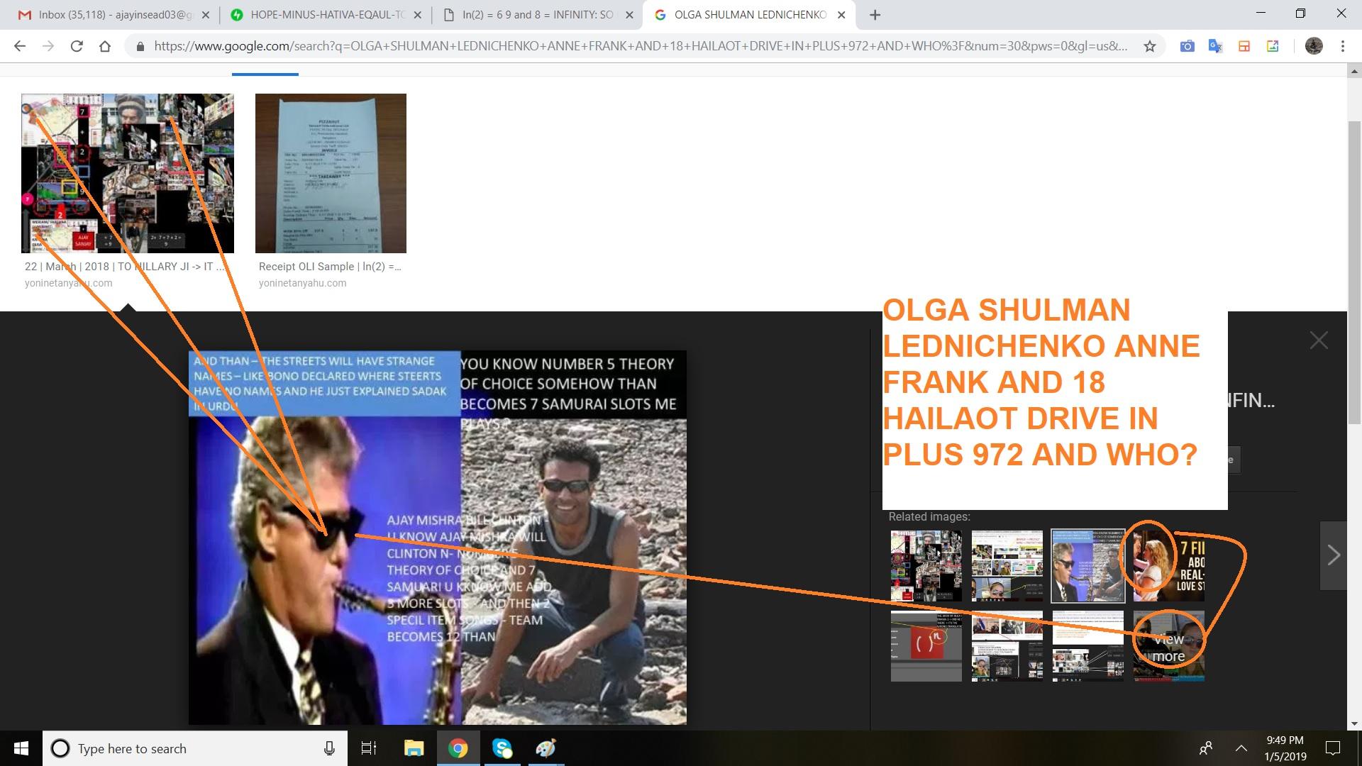 olga shulman lednichenko anne frank and 18 hailaot drive in plus 972 and who - p 3