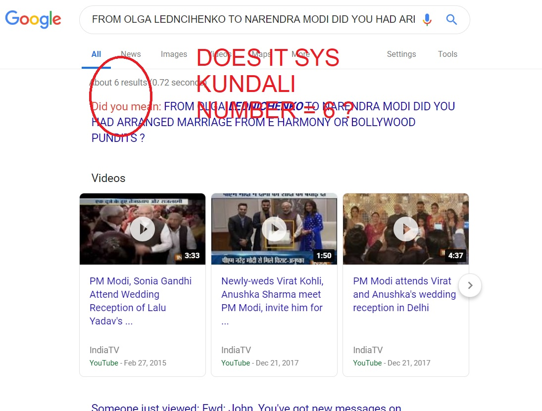 KUNDALI NUMBER OF MODI AND BOLLYWOOD EQAUL TO WHAT OLGA