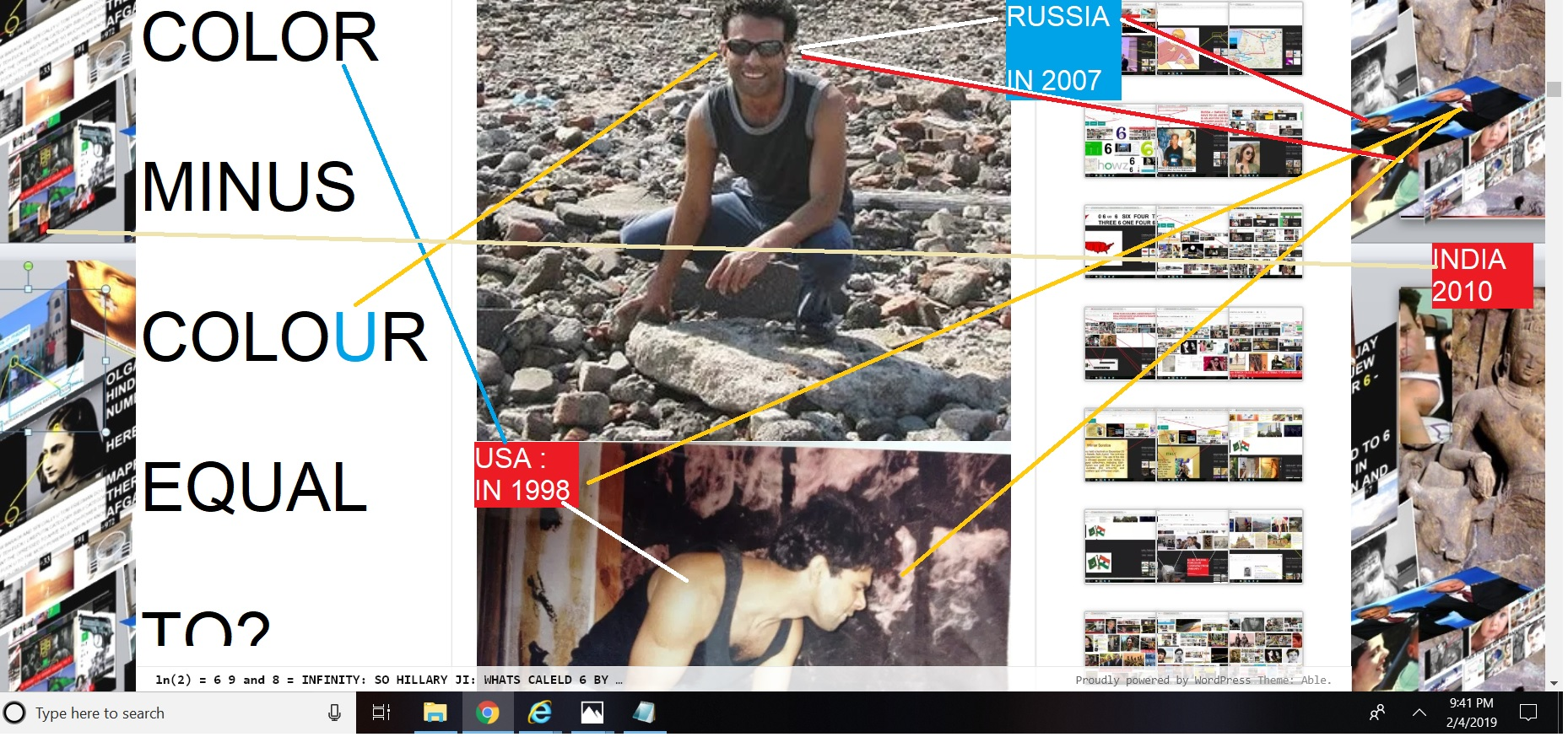 TO BRAACK OBAMA SANJAY DUTT AND BILL CLINTON AND CAN ANYONE ELSE - TEL WHATS COLOUR MINUS COLOR EQAUL TO IN INDIAN AMERICAN AND RUSSHIAN