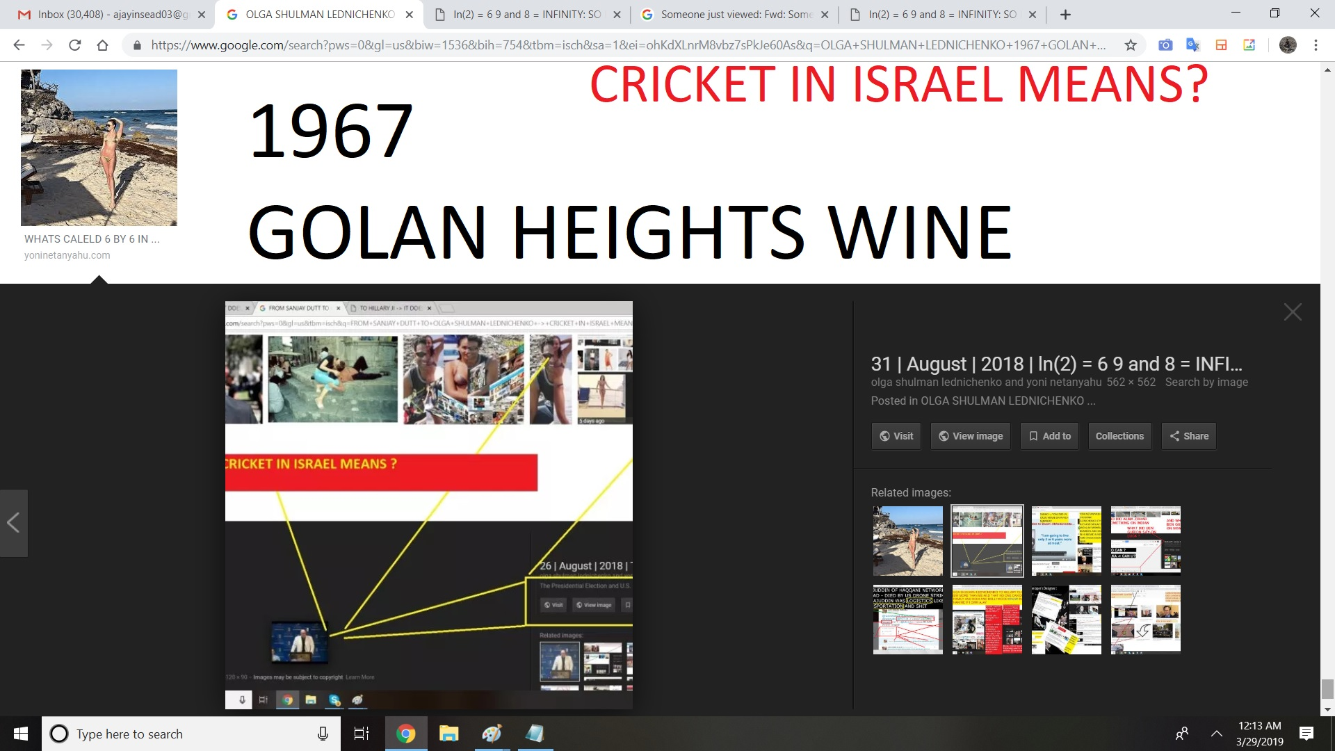 1967 GOLAN HEIGHT WINE