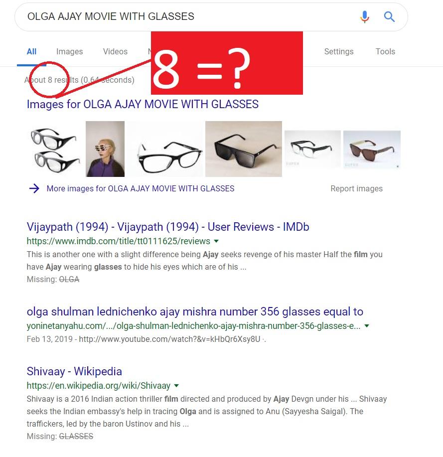 OLGA AJAY GLASSES