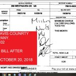 VENDOR = TRAVIS COUNRTY WATER COMPANY. $4.02 OCTOBER WATER BILL, MATCHED WITH EVELYN'S NUMBER AND INVOICE