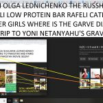FROM OLGA LEDNICHENKO THE RUSSHIAN IN ISARELI LOW PROTEIN BAR RAFELI CATEGORY POSTER GIRLS WHERE IS THE GARVE DIAGRSM FOR TRIP TO YONI NETANYAHU'S GRAVE STONE
