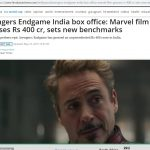 AVENGERS MADE MORE MONEY EVEN IN INDIA THAN ANY KHAN MOVIE DID - SO FAR