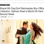 BHARAT DAY 8 IS ALSO DOWN - IT SEEMS BHARAT TANKED - BIG TIME