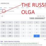 THE RUSSIAN OLGA