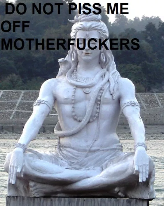 HEARD WORD SHIVA INDIANS