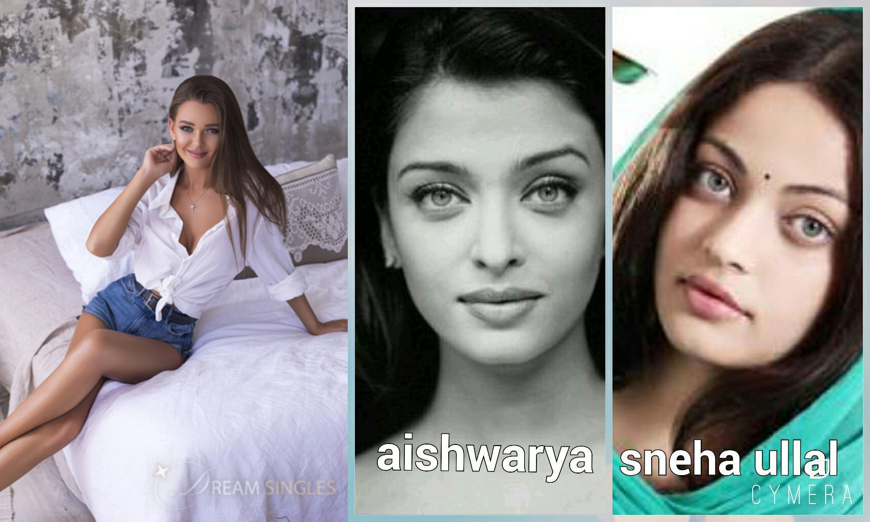AISHWARYA RAI AND CHRISTINA AND