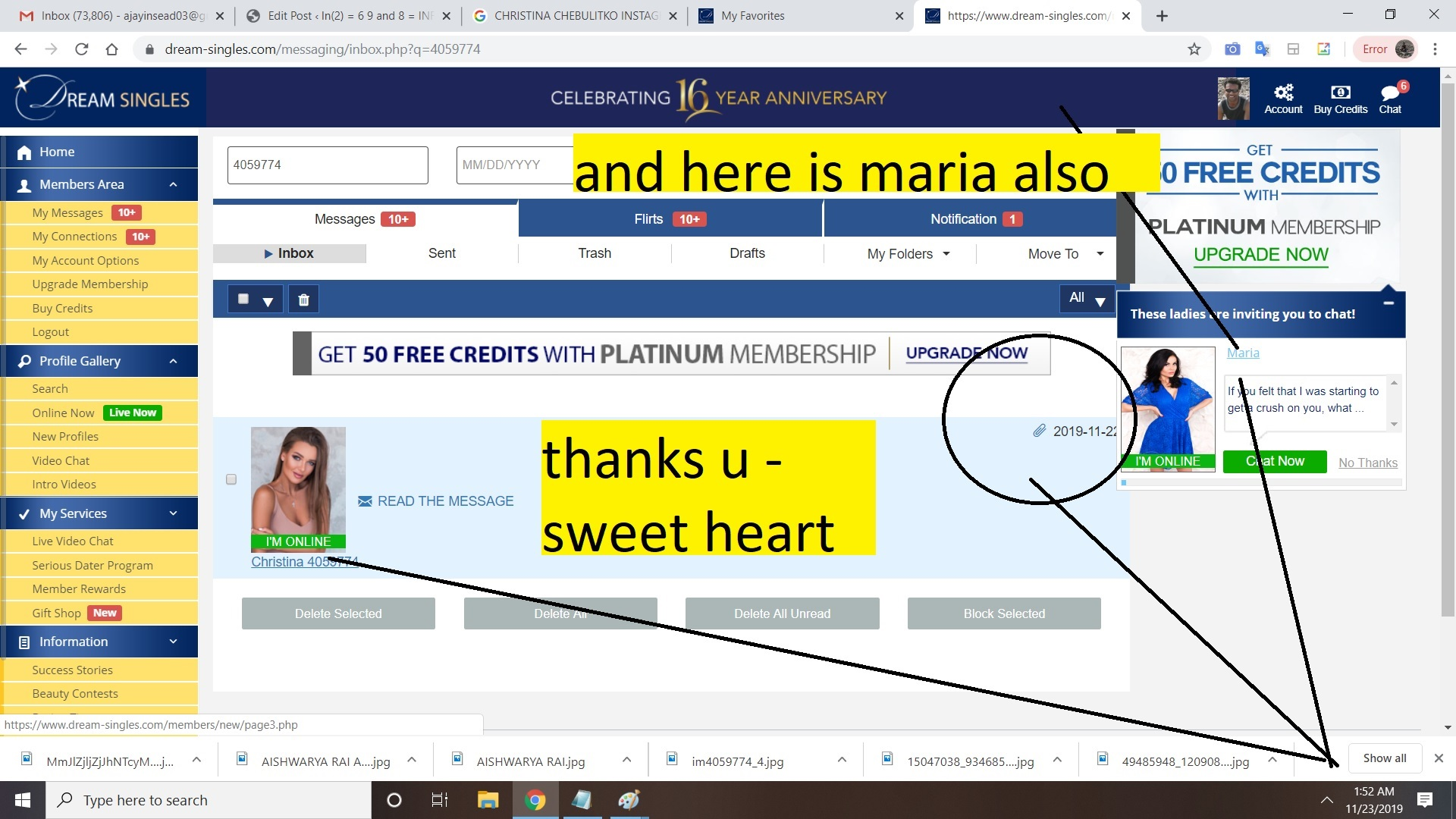 christiana - thanks