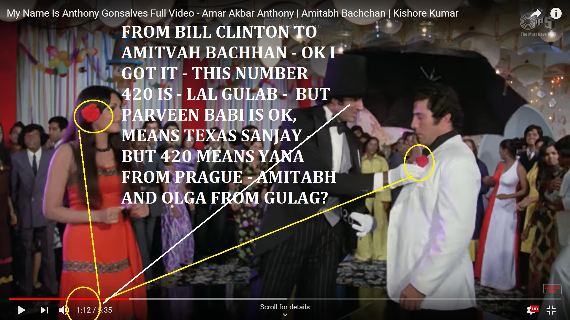 FROM BILL CLINTON TO AMITVAH BACHCHAN - AND SANJAY DUTT - AND EVEN TO THAT IILELR RUSHSIAN - LGA - U KNOW I AM SLOW BRAIEND AND NOT JEW - BUT H