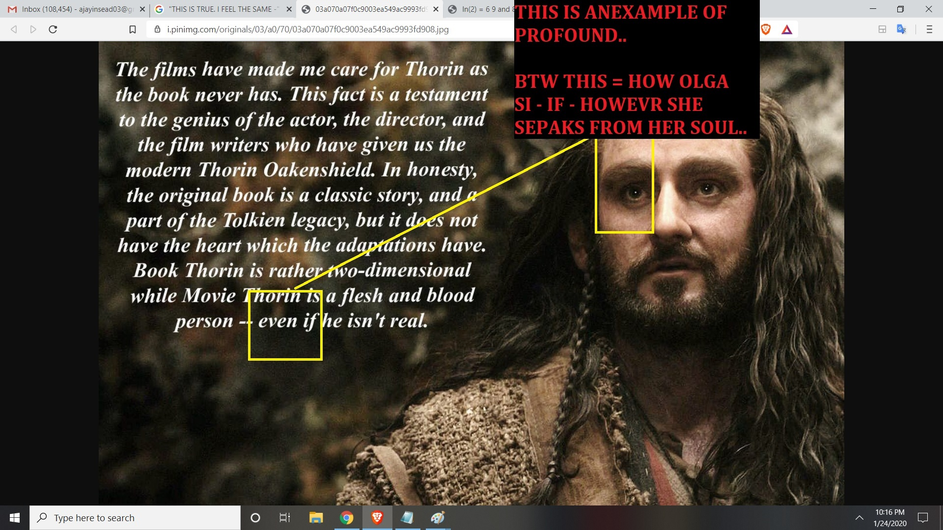 MEANING EVEN F JESUS STORY IS FAKE - AND FAIRY TAE ITS PROFOUND OK BILL MAHER AND OTHERS - AND MANY MILIONS ND BILIONS OF OTHER PEPLES