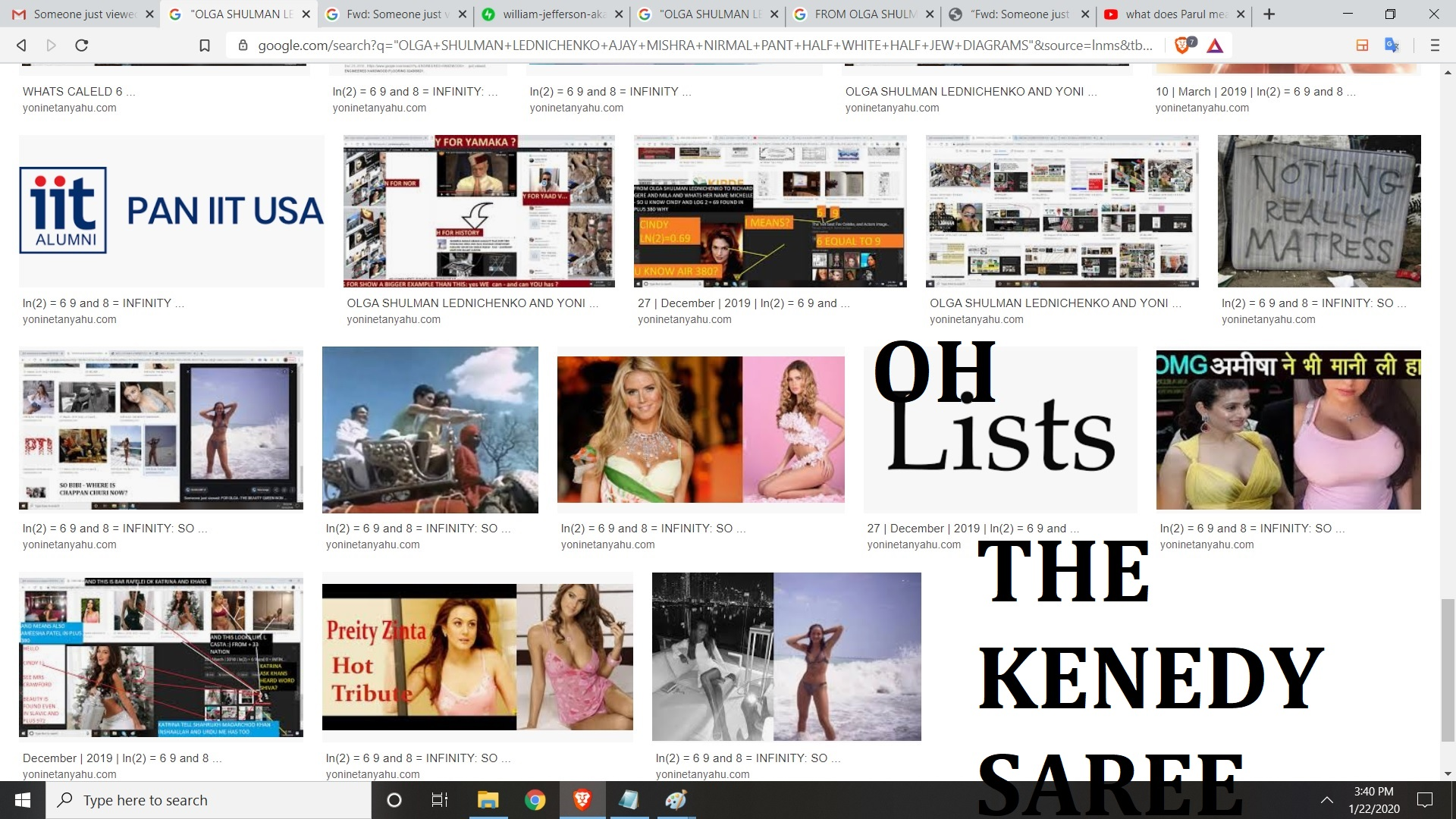 OH THE KENNEDY SAREE -