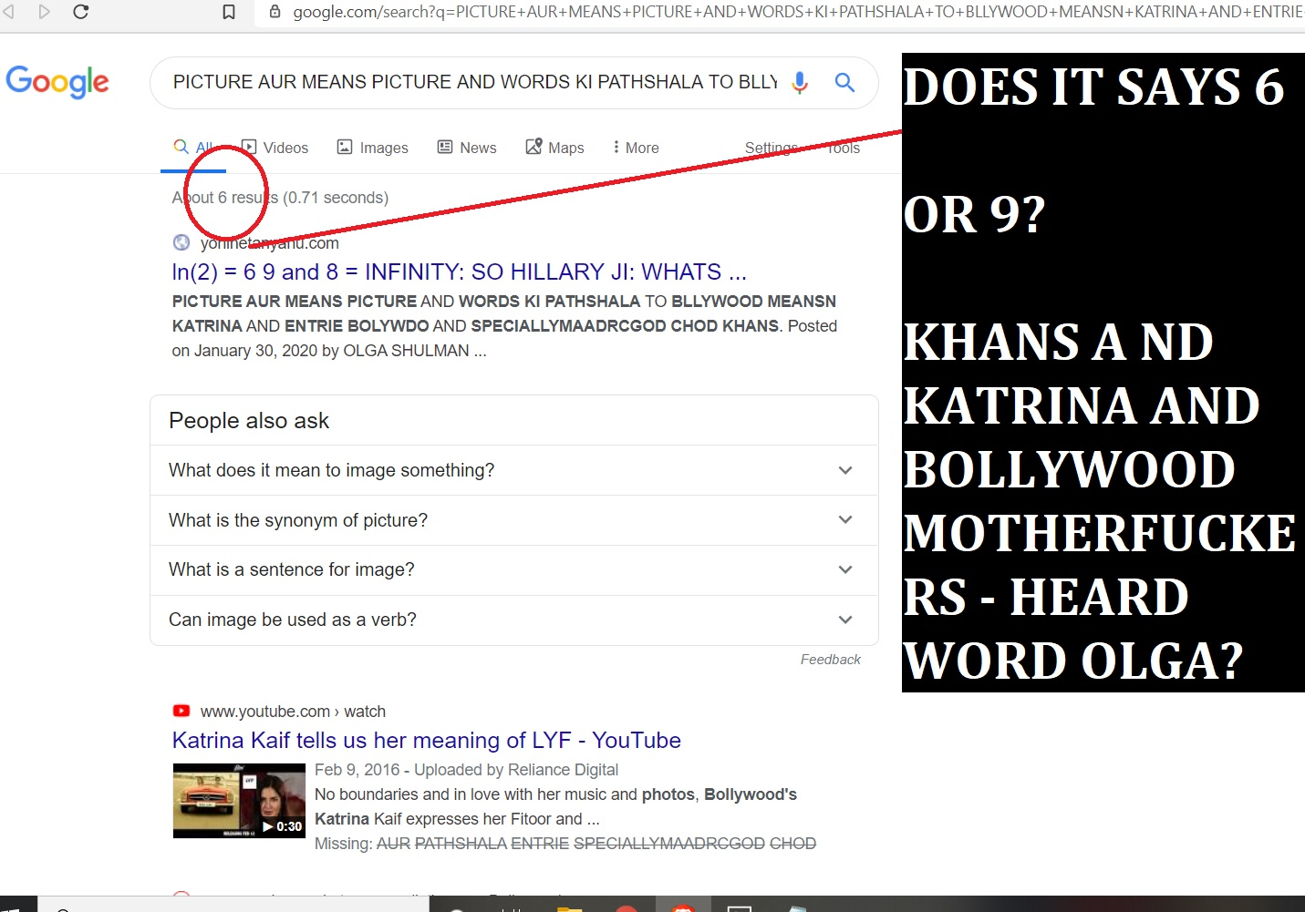 PICTRE KI PATHSHALA TO KHANS AND KATRINA AND MOTHERFUCKINGBOLLWYODO ENTRIE BOLLYWODO VIA GIOOGLE EYS, MAFADRCHOD HEARD WORD GOGOL AND OLGA