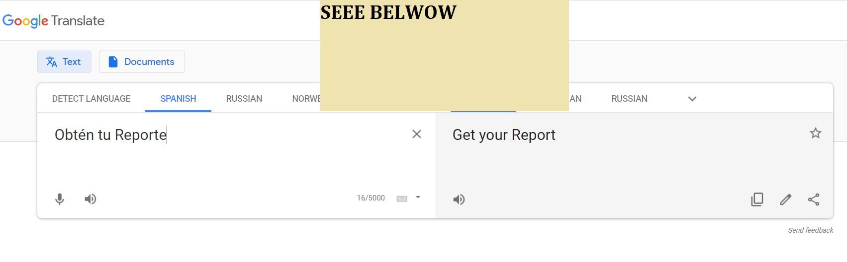 SEE BELOW