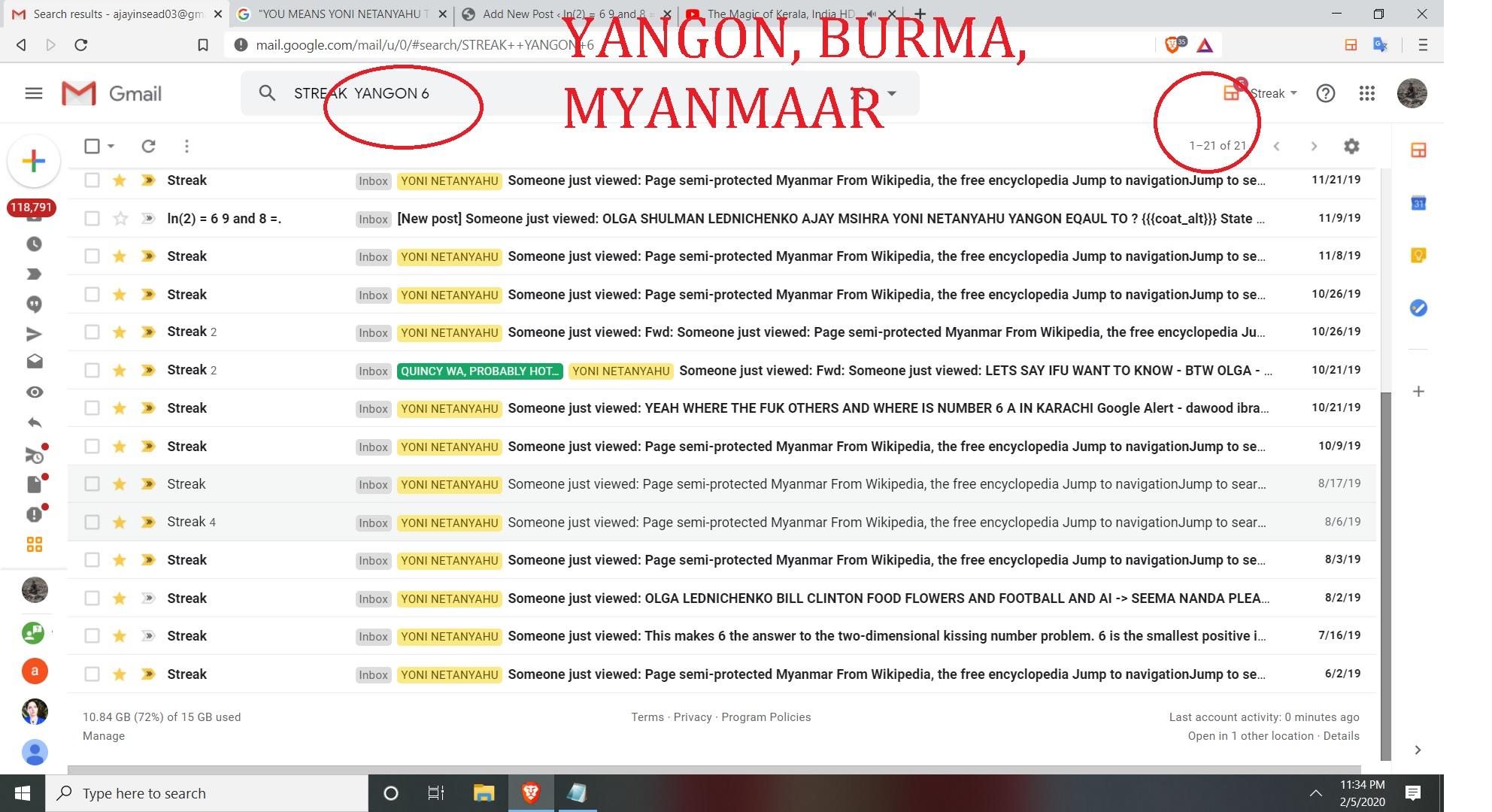 BRUMA OR MYANMAAR