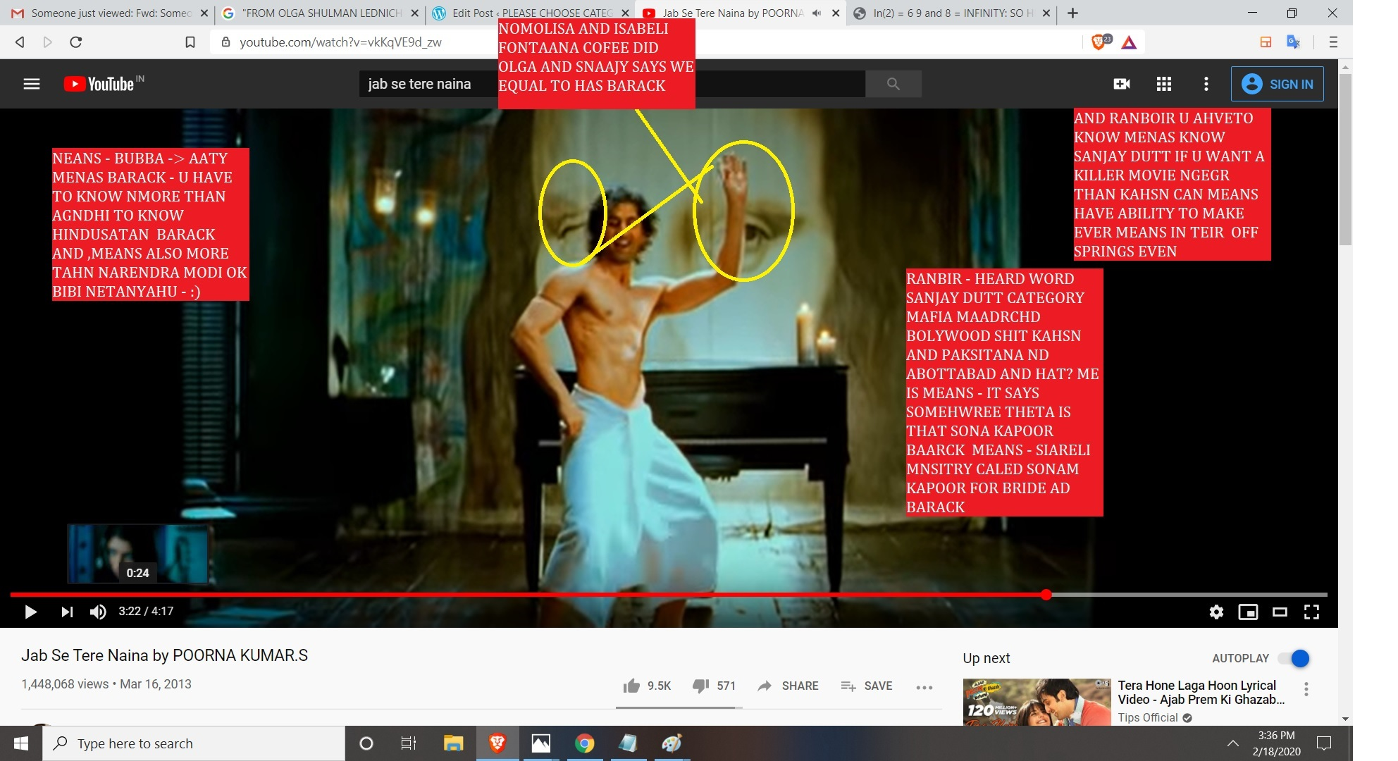 NOMOLISA AND MONALISA DIAGRAMS SEEN MOTHERFUKERS AND WHAT DO U THINKS OLGA AND SANJAY DUTT AND SONAM KAPOOR AND ANIL KAPOOR AND MODI AND SNAJAY DUTT