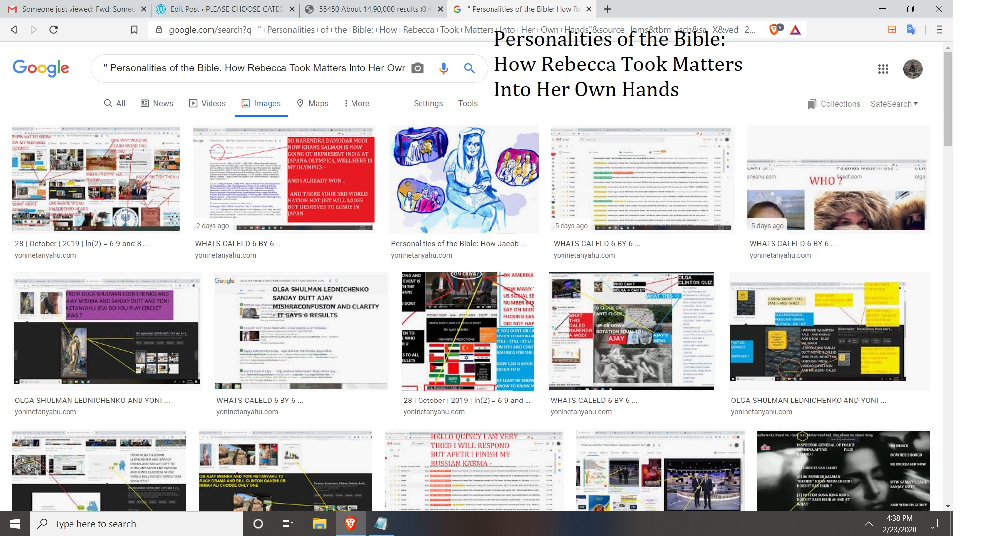 Personalities of the Bible How Rebecca Took Matters Into Her Own Hands
