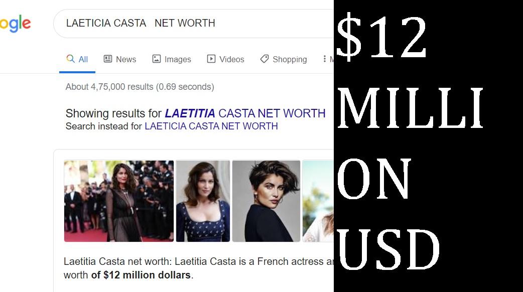 LAETICIA CASTA NET WORTH