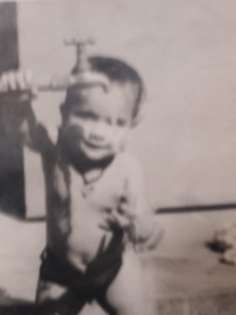 ajay mishra photos childhood ---------------------------------