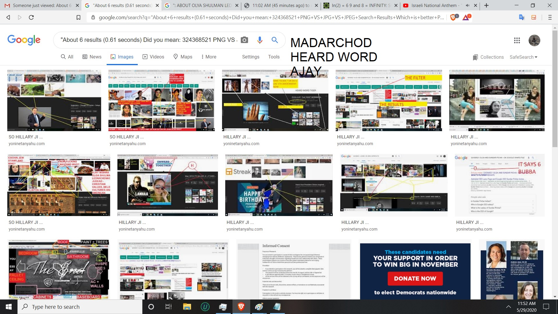 MADARCHOD HEARD WORD AJAY