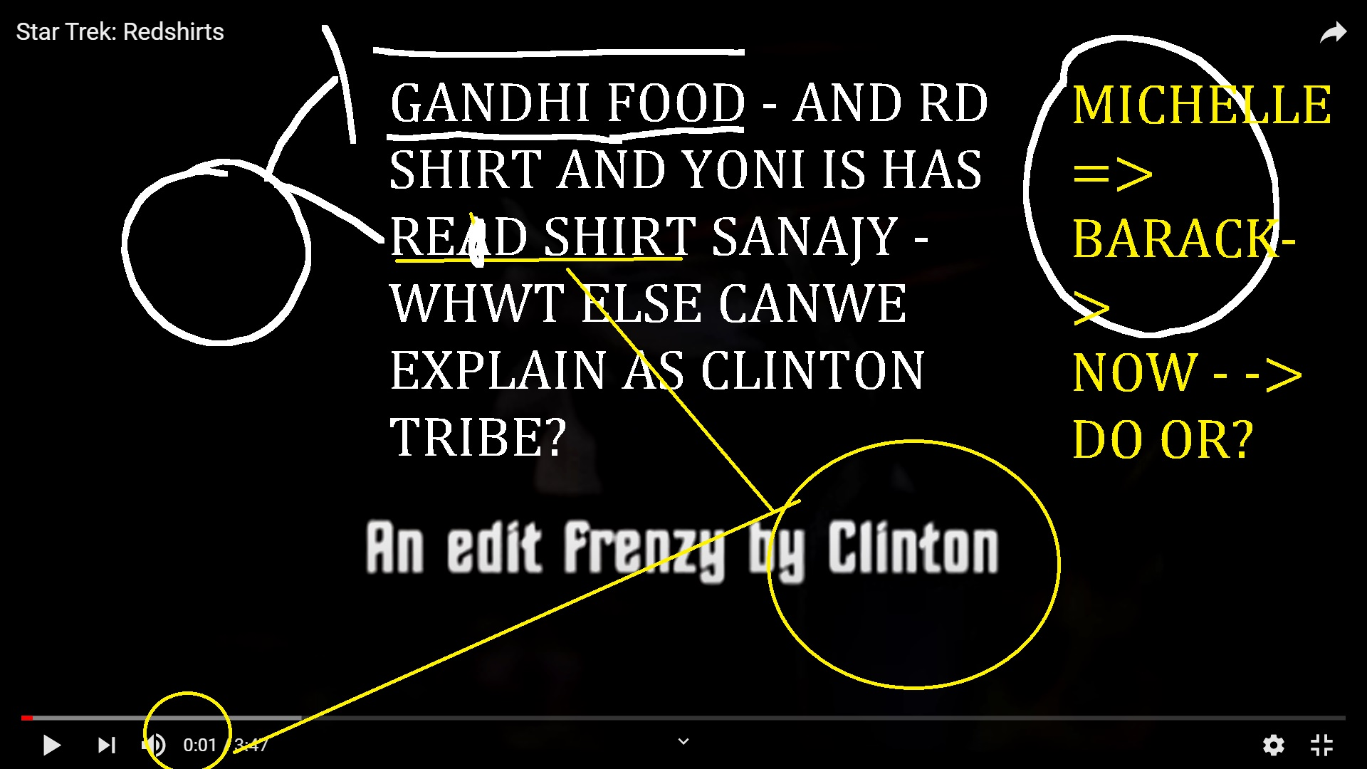 YNI'S RED SHIRT AND AJAY MISHRA DN CLINTON AND GANDHI FOOD ITEM SONG