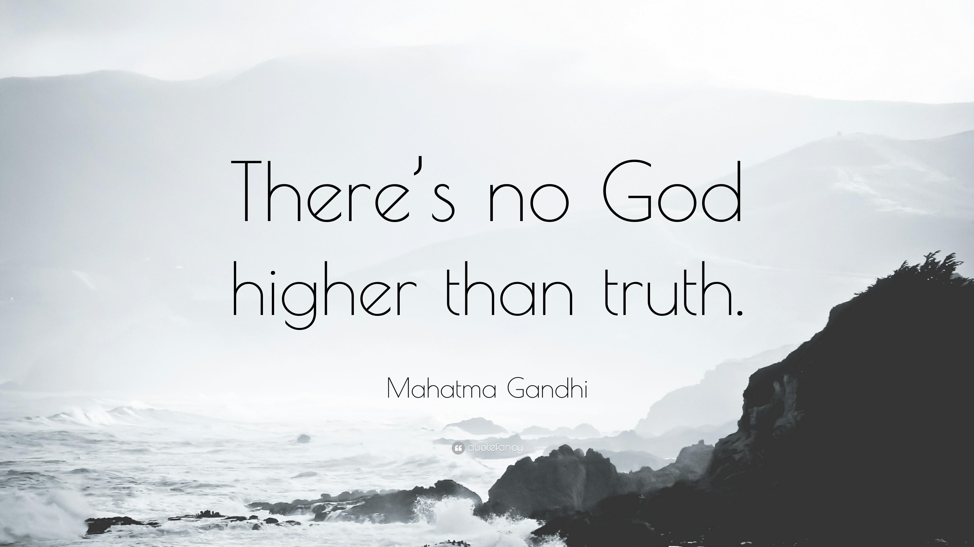 GANDHI SAID