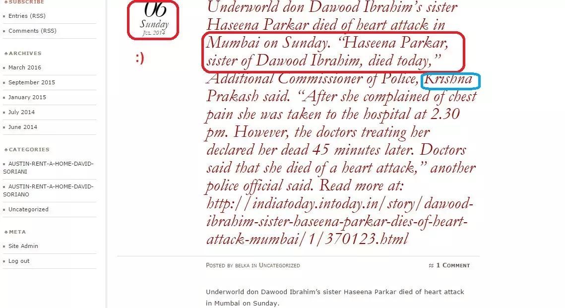 HASEENA PARKER DAWOOD IBRAHIM 6