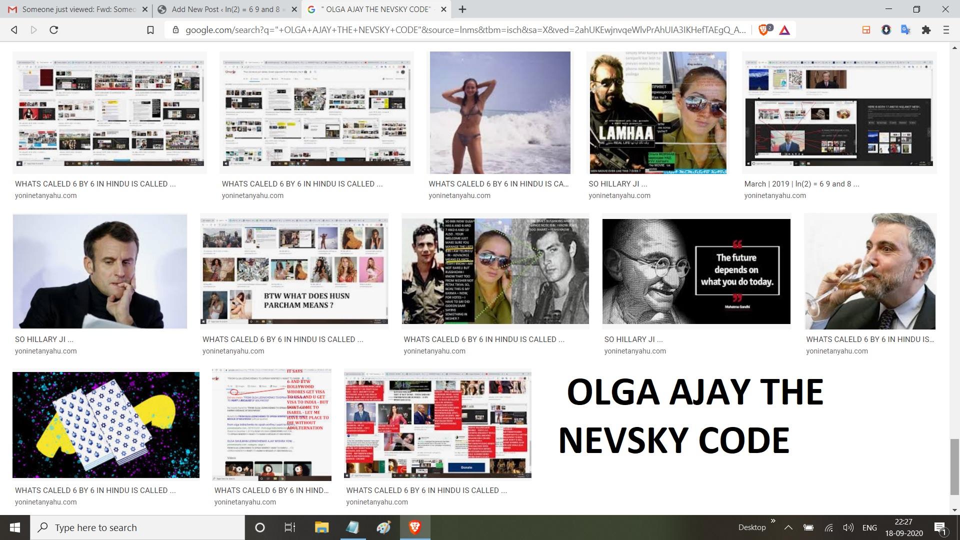OLGA AJAY THE NEVSKY CODE