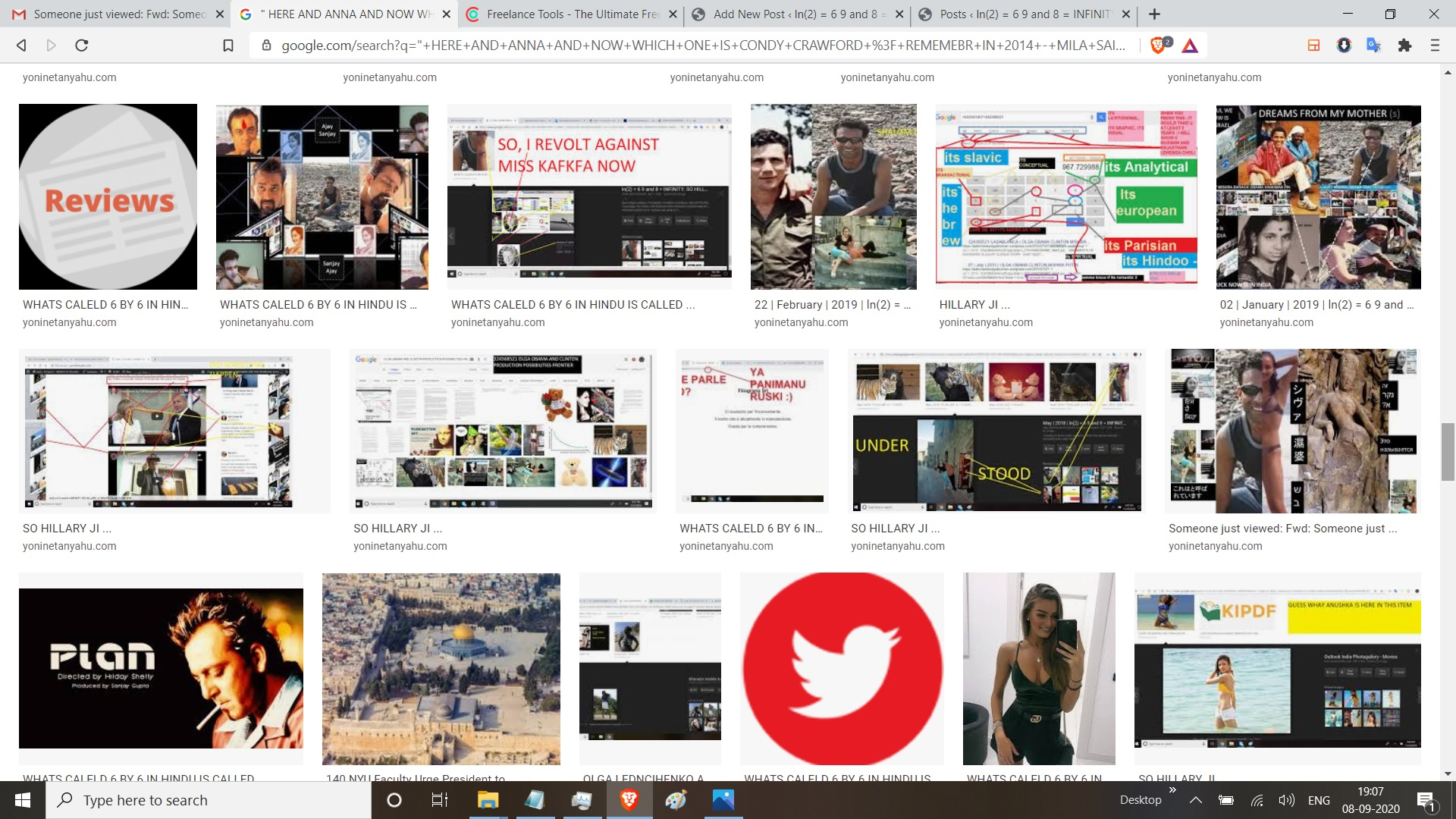 """"""" HERE AND ANNA AND NOW WHICH ONE IS CONDY CRAWFORD ? REMEMEBR IN 2014 - MILA SAID ON THE BLOG SOMETHING ? - IS BILL CLINTON AND BARACK OBAMA THERE -> THE LIP JOB AND THE CINDY CRAWFORD -? WITH LOVE FROM RUSSIA AND INDIA - ... GOT IT ? - YOUR WECPOOME Inbox x YONI NETANYAHU x Streak 11:25 AM (3 hours ago) to me Someone just viewed your email with the subject: HERE AND ANNA AND NOW WHICH ONE IS CONDY CRAWFORD ? REMEMEBR IN 2014 - MILA SAID ON THE BLOG SOMETHING ? - IS BILL CLINTON AND BARACK OBAMA THERE -> THE LIP JOB AND THE CINDY CRAWFORD -? WITH LOVE FROM RUSSIA AND INDIA - ... GOT IT ? - YOUR WECPOOME Details People on thread: YONI NETANYAHU OLGA BLOG POST BY EMAIL Device: PC Location: houston, tx Streak 2:57 PM (1 minute ago) to me Someone just viewed your email with the subject: HERE AND ANNA AND NOW WHICH ONE IS CONDY CRAWFORD ? REMEMEBR IN 2014 - MILA SAID ON THE BLOG SOMETHING ? - IS BIL L CLINTON AND BA"""""""