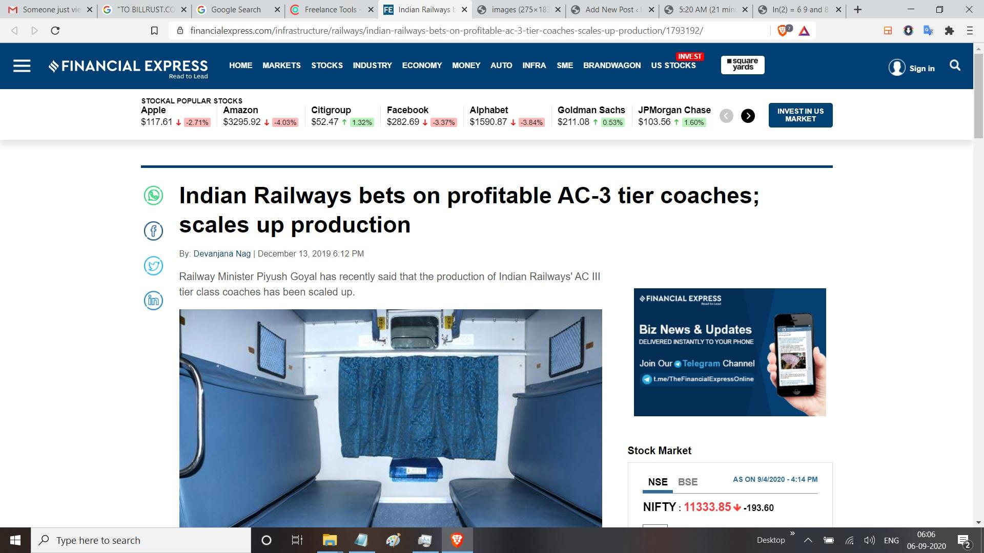 ac 3 tier indian railways