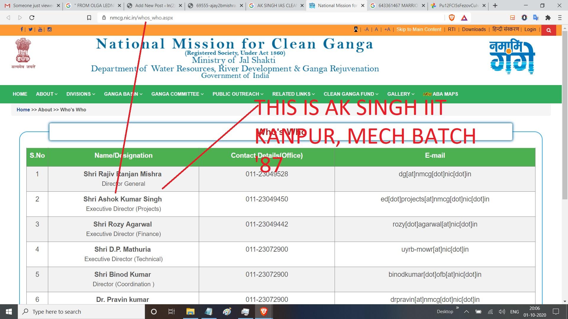 AK SNIGH GANGA CLEAN PROJECT -REGARDS AJAY - MISHRA - IIT K