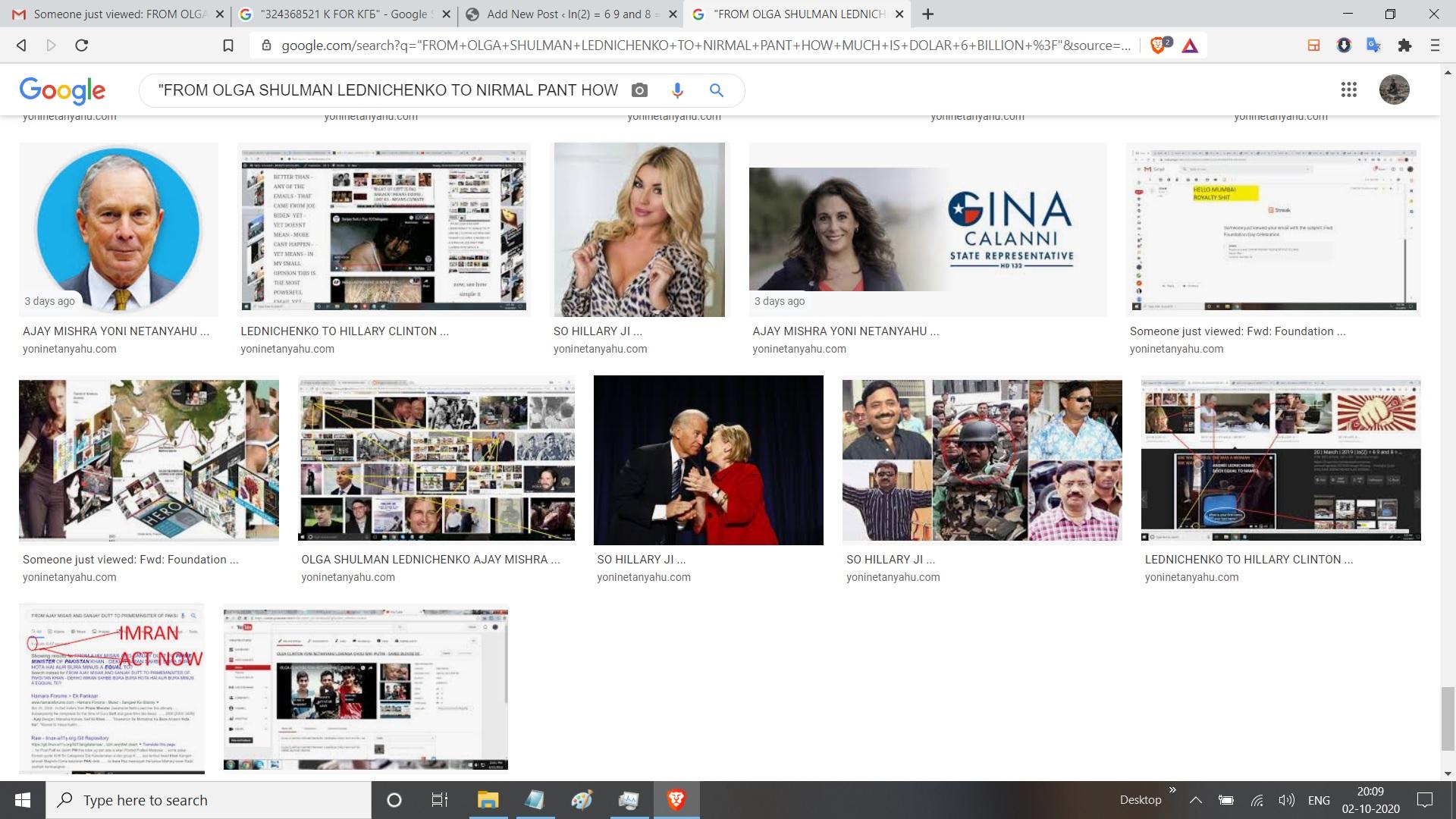 FROM OLGA SHULMAN LEDNICHENKO TO NIRMAL PANT HOW MUCH IS DOLAR 6 BILLION