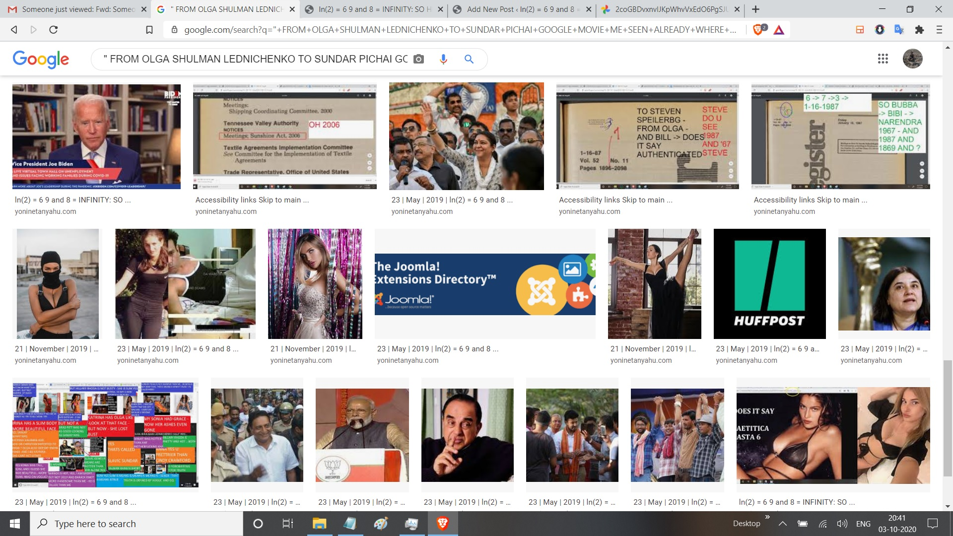FROM OLGA SHULMAN LEDNICHENKO TO SUNDAR PICHAI GOOGLE MOVIE ME SEEN ALREADY WHERE MOST SEARCHED IN THE WORLD WAS MY LOOK ALIKE CALED KATRINA THE KASHMIRI MULSIM WITH KHANS AND THEN IT BECOME SUNNY PRON LEONE HAVE U SEEN MOVIE CALLED GOGOL SUNDAR