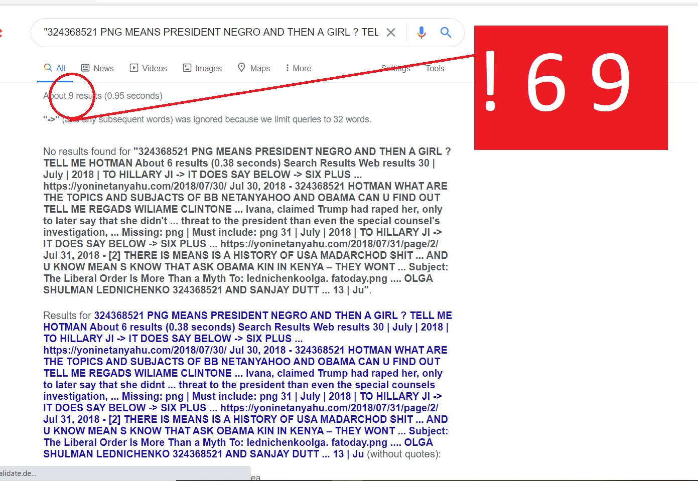 """""""324368521 PNG MEANS PRESIDENT NEGRO AND THEN A GIRL ? TELL ME HOTMAN About 6 results (0.38 seconds) Search Results Web results 30 