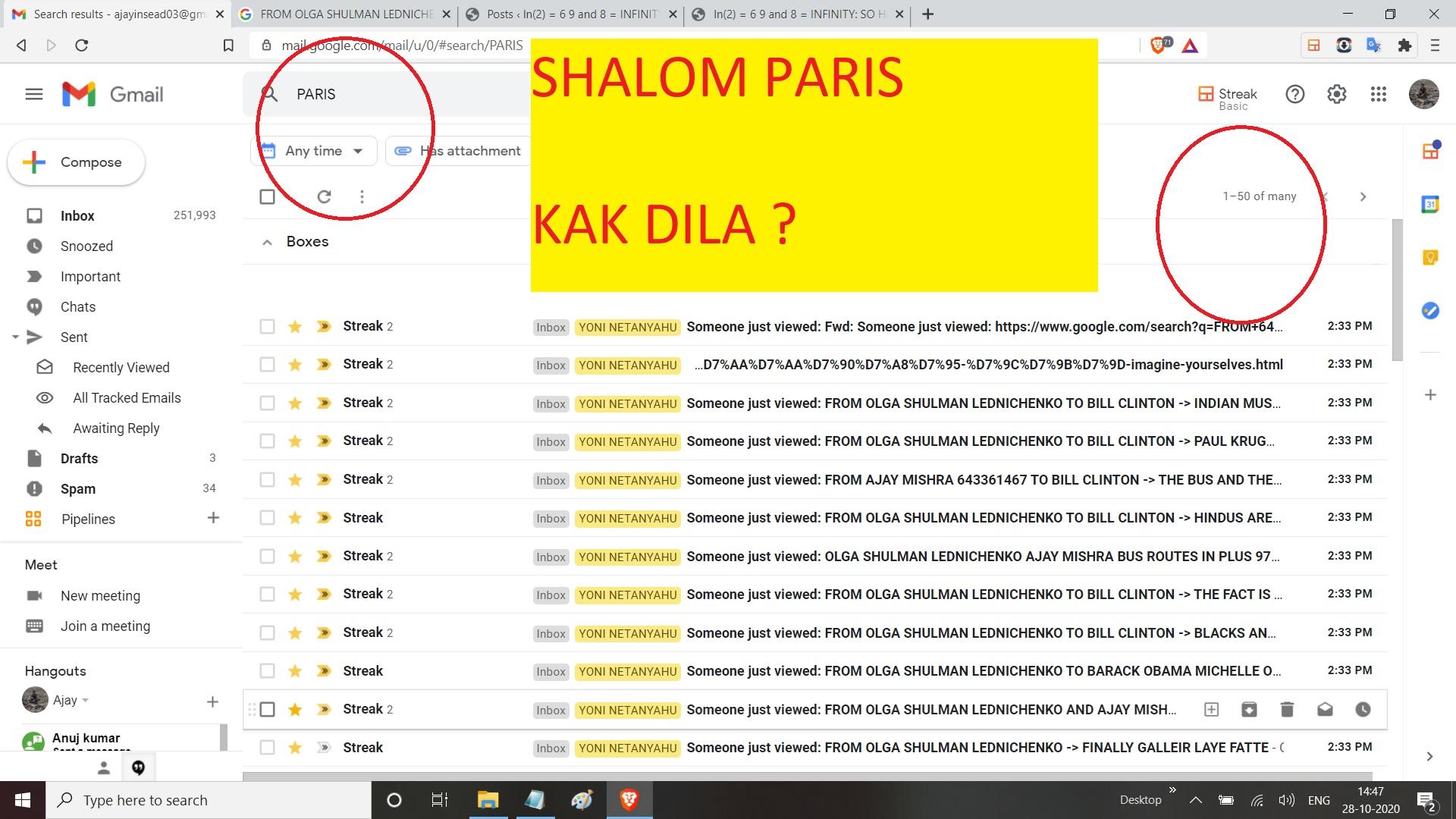 SHALM PARIS KAK DILA