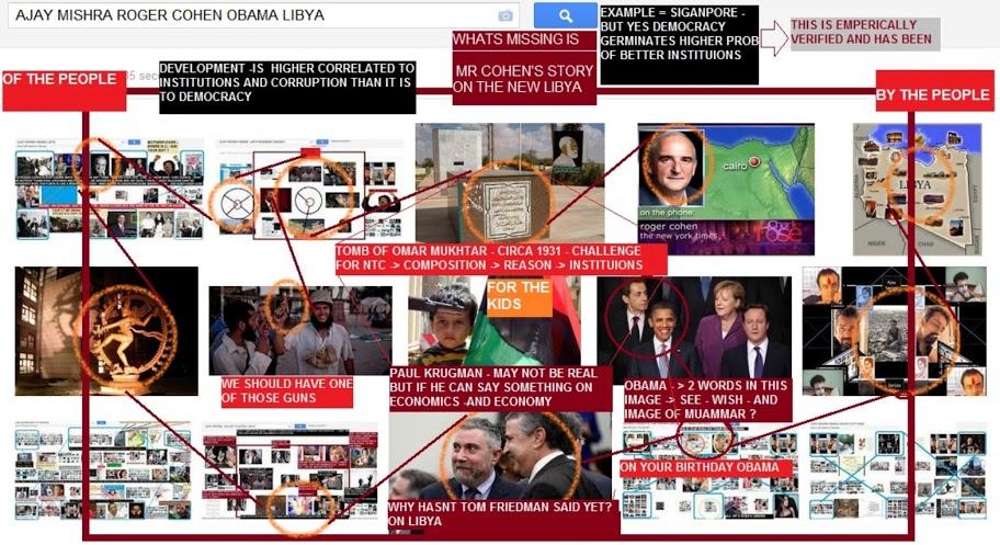 ajay-mishra-roger-cohen-obama-libya