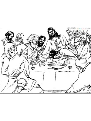jesus and strategy break last supper