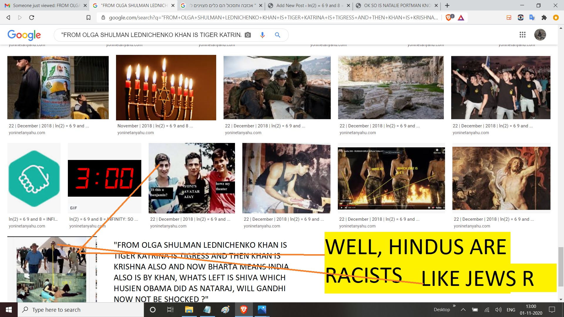 FROM OLGA SHULMAN LEDNICHENKO KHAN IS TIGER KATRINA IS TIGRESS AND THEN KHAN IS KRISHNA ALSO AND NOW BHARTA MEANS INDIA ALSO IS BY KHAN, WHATS LEFT IS SHIVA WHICH HUSIEN O