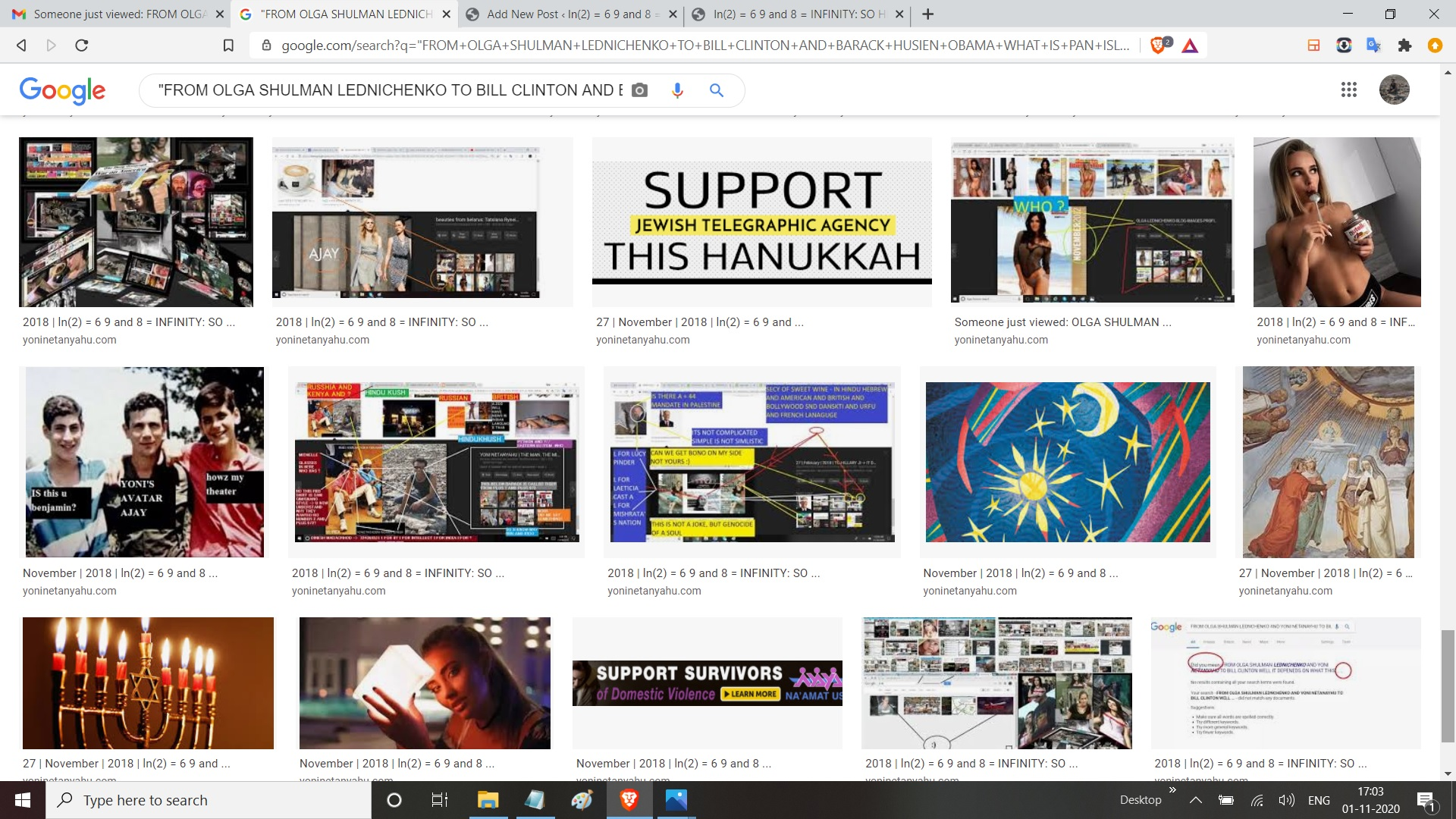 FROM OLGA SHULMAN LEDNICHENKO TO BILL CLINTON AND BARACK HUSIEN OBAMA WHAT IS PAN ISLAMISM