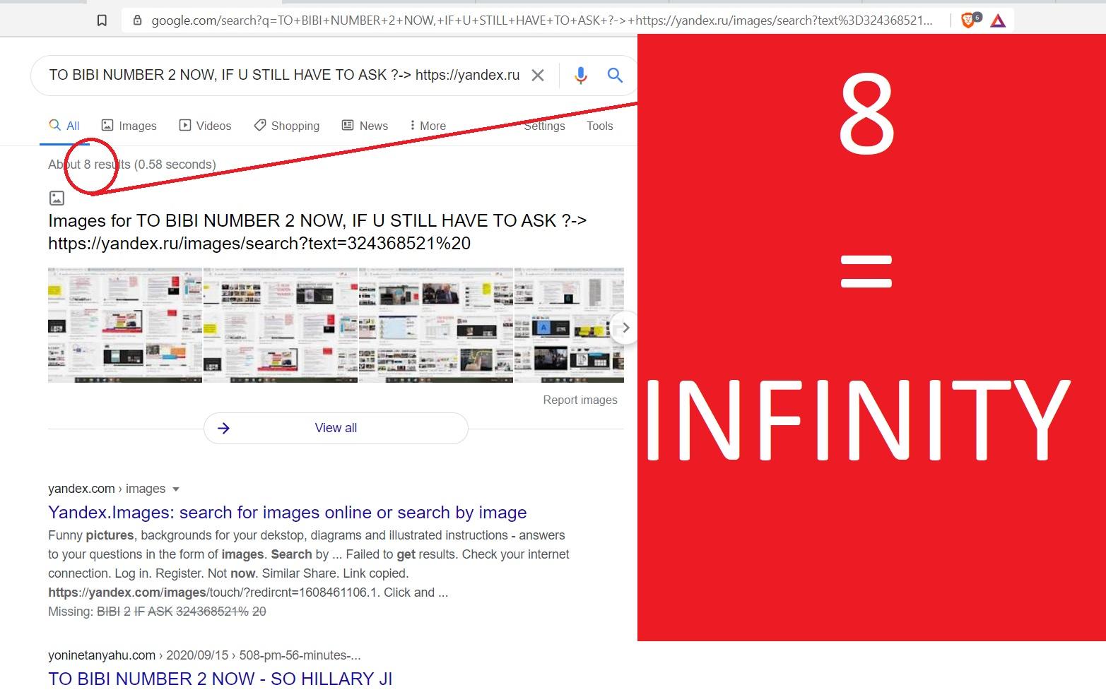 8 = INFINITY