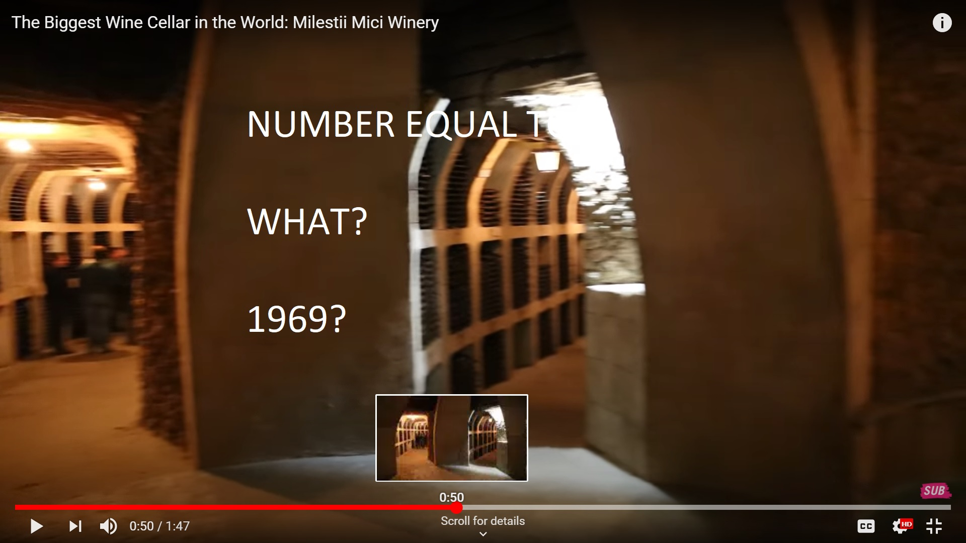 WINE FROM MOLDOVA 1969