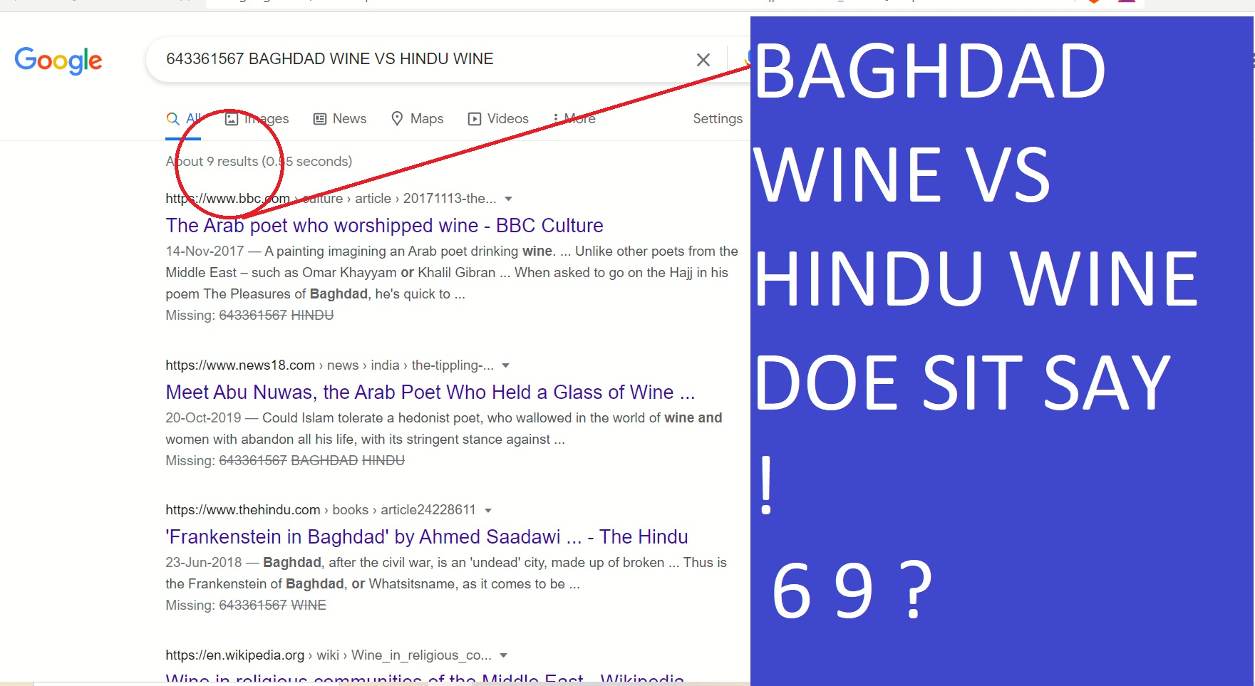 BADH DAD WINE VS HINDU WINE EMANS 200 YEAR D VS 5000 YEARD IOLD BATETRY - IN WHICH VAFG MADARCHOD